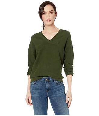 Lacoste Long Sleeve Cotton V-Neck Sweater