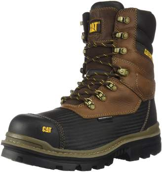Caterpillar Footwear Men's Thermostatic Ice+ WaterProof TX CT CSA Construction Boot