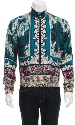 Dolce & Gabbana Silk Bomber Jacket w/ Tags