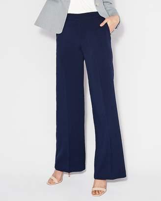 Express High Waisted Wide Leg Dress Pant