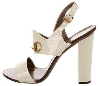 Gucci Horsebit Slingback Sandals