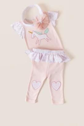 Baby Aspen Baby Aspen, Inc. Unicorn 3-Piece Outfit
