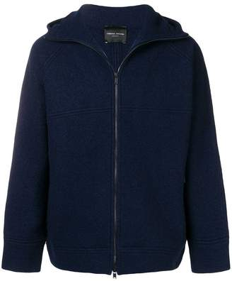 Roberto Collina zip hooded jacket
