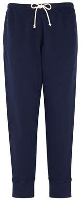 American Vintage Kinibay Cropped Jersey Jogging Trousers