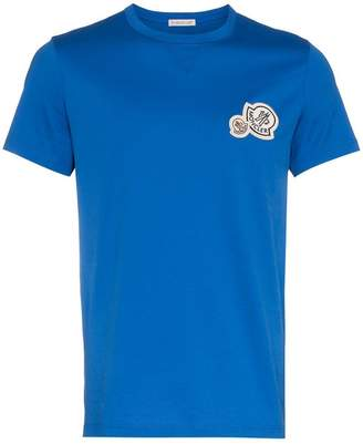 Moncler logo patch cotton t-shirt