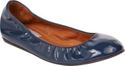 Lanvin Patent Ballet Flats