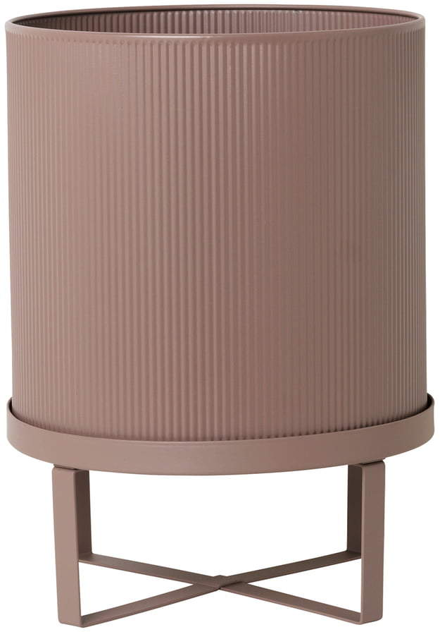 ferm living - Bau Pflanztopf, Ø 28 x H 38 cm, rosa