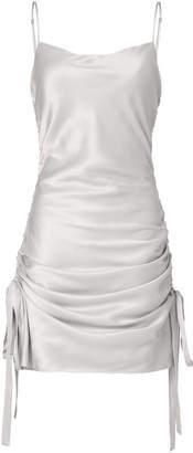 Zimmermann Ruched Slip Mini Dress