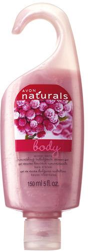 Avon Naturals Winter Berry Shower Gel