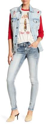 Rock Revival Crystal Embellished Skinny Legged Jeans