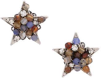Rada' Radà beaded star earrings