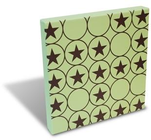Stars and Circles Print