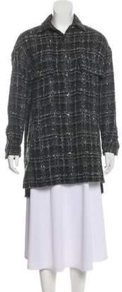 The Kooples Patterned Short Coat