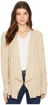 Michael Stars Super Soft Madison Long Sleeve Open Cardigan Women's Sweater