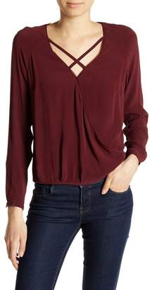 Go Silk go \u003E by GoSilk Go X Marks the Sport Silk Blend Blouse