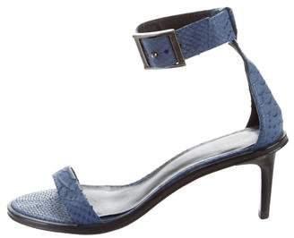 Tibi Ankle Strap Sandals
