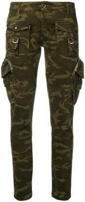 Faith Connexion military skinny trousers