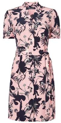 Aquascutum London Damia Printed Shirt Dress
