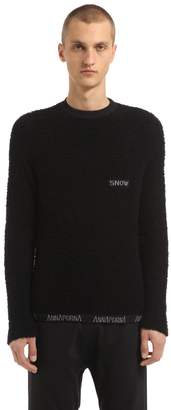 Annapurna Cashmere Sweater W/ Embroidered Detail
