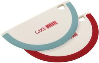 Cake Boss Tools & Gadgets 2-pc. Silicone Bowl Scraper Set