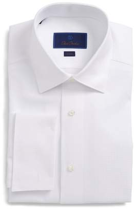 David Donahue Slim Fit Tuxedo Shirt