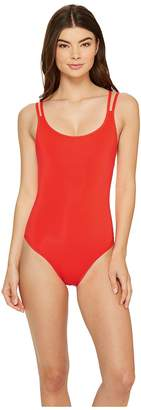 Jets Jetset Double Strap One-Piece Swimsuit Women's Swimsuits One Piece