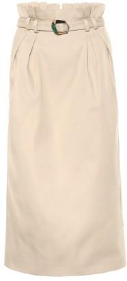 Gabriela Hearst Jordan cotton skirt