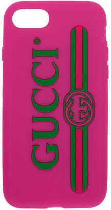 Gucci Pink Vintage Logo iPhone 7 Case