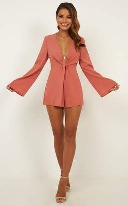 7f714fb6f4c7 Showpo Forbidden Love playsuit in dusty rose - 8 (S) Playsuits