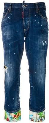 DSQUARED2 Boyfriend jeans