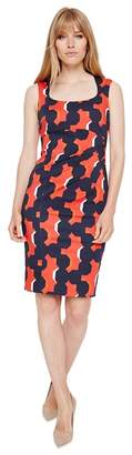 Damsel in a Dress Red Multi-Coloured Laurie Printed Bodycon Dress