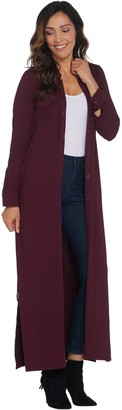 G.I.L.I. Got It Love It G.I.L.I. Regular Peached Knit Duster with Pockets