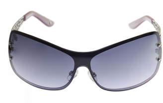 Nicole By Nicole Miller Rimless Shield Sunglasses-Womens