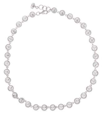 Ted Baker Rosele Miligrain Bezel Set Crystal Collar Necklace