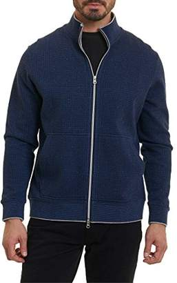 Robert Graham Men's Hyde Park Long Sleeve Knit Full Zip
