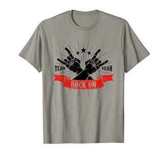 Rock On Yeah Yeah | Cool Rock and Roll Tee