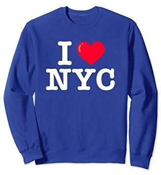 I Heart NYC Classic Typewriter Font Sweatshirt