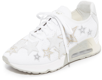 Ash Lucky Star Sneakers $198 thestylecure.com