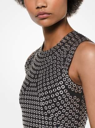 MICHAEL Michael Kors Grommet-Embellished Dress