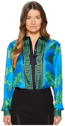 Versace Camicia Donna Tessuto Button Up Blouse Women's Blouse