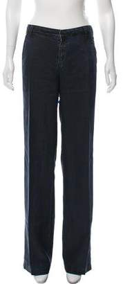 Marc by Marc Jacobs Textured Mid-Rise Pants