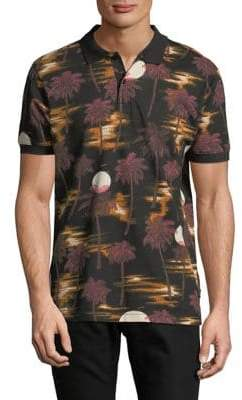 Wesc Antarctic Hawaii Cotton Polo