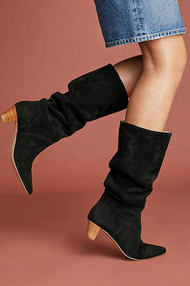 Silent D Kitten-Heeled Riding Boots