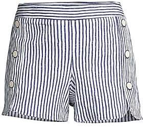 Trina Turk Women's Striped Optic Shorts