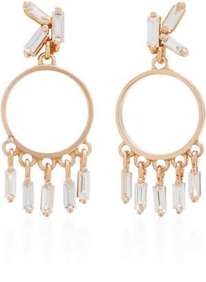 Suzanne Kalan 18K Rose Gold Diamond Earrings