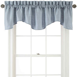Royal Velvet Supreme Rod-Pocket Lined Scalloped Valance