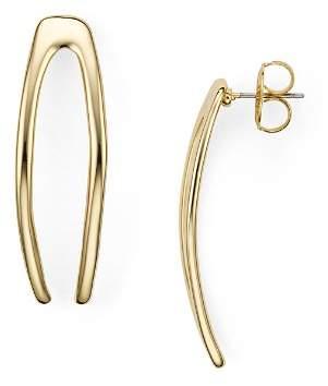 Robert Lee Morris Soho Wishbone Earrings