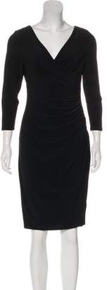 Lauren Ralph Lauren Long Sleeve Midi Dress