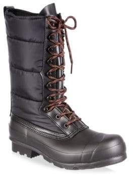 Hunter Quilted Nylon& Rubber Boots