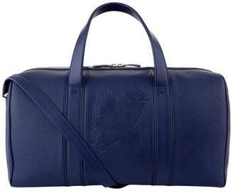 Stefano Ricci Leather Boston Weekend Holdall